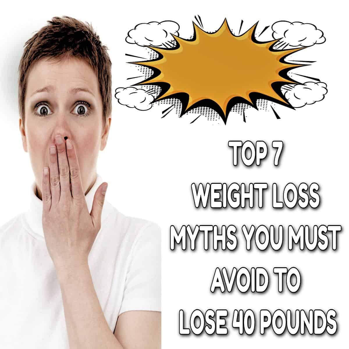 how to lose 40 pounds - People who are trying to lose weight often fall victim to the many myths regarding weight loss that are out there. Weight loss can be a very difficult journey, and it's important to ensure that you're making the most out of your efforts.